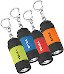 Rubberized LED Light Key Clips
